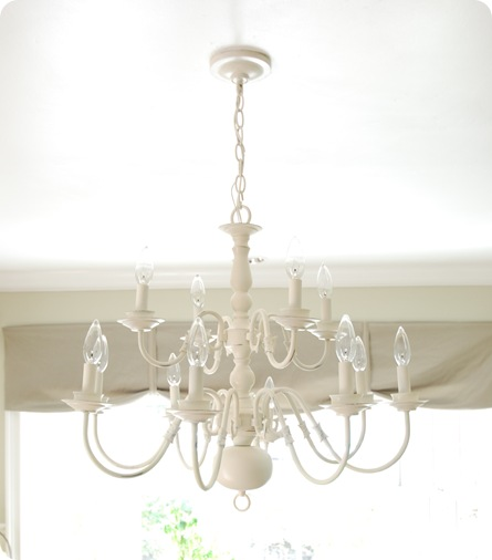 Weekend DIY Project: Go Brassy To Classy With A Chandelier