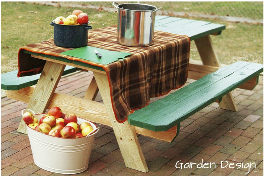 Picnic Table Paint Garden Diy Ideas Painted Picnic Tableswood Used - Picnic table paint colors
