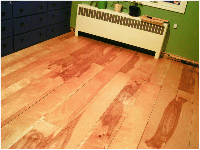 Diy Project Beautiful Birch Plywood Flooring Made Easy