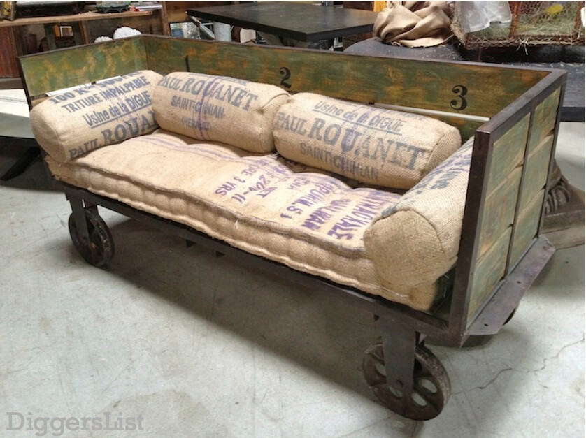 Coal miners repurposed cart.