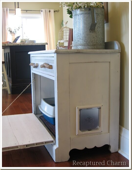 kitty litter furniture ideas