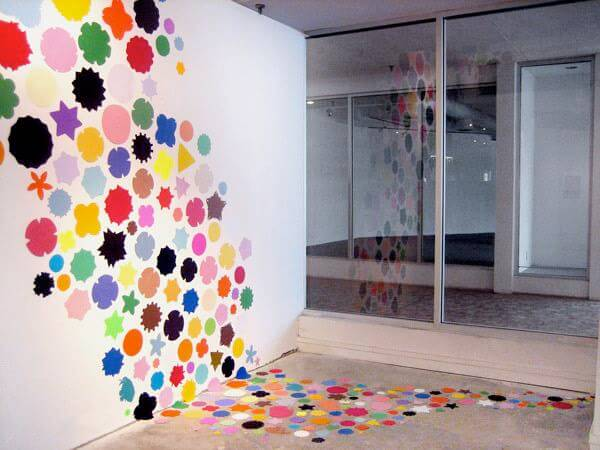 painted graphic feature walls are just fab homejelly painting walls ideas images - Paint Design Ideas For Walls