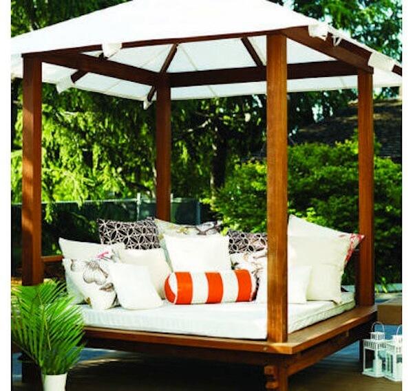 Cool and Breezy Backyard Cabanas : HomeJelly on Patio Cabana Ideas id=12325
