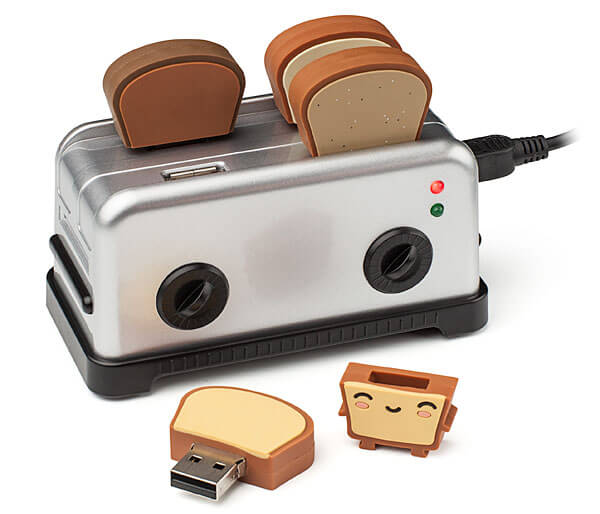 Toaster Thumb drives