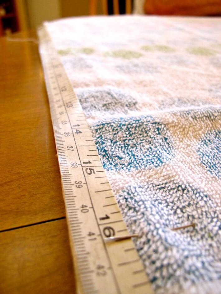 "Include an extra 1/4"" seam allowance"