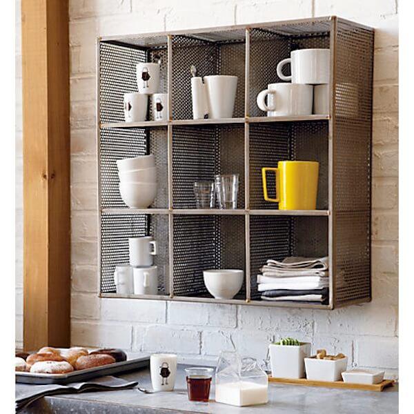 Sift raw wall shelf office storage