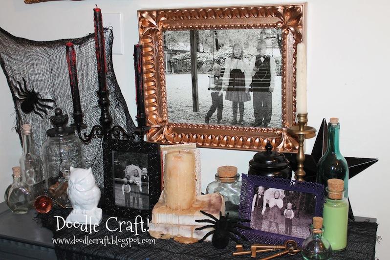 Ghost family portrait