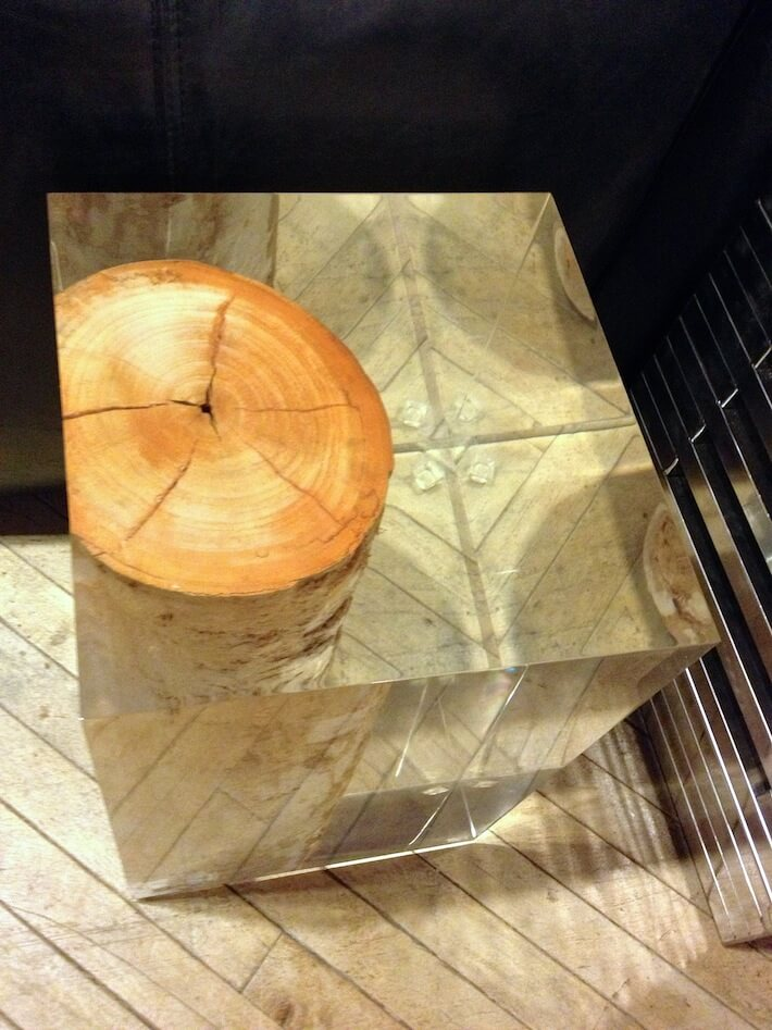 Interior Decorating With Tree Stumps Au Naturel Homejelly