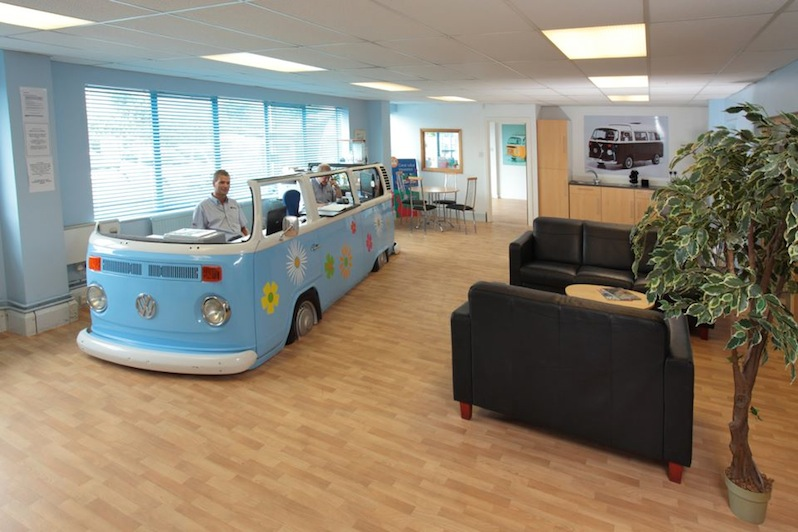 Repurposed VW desk