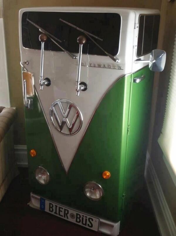 VW Bier Bus Kegerator Fridge