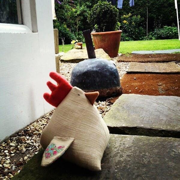 Doorstop stuff we discovered today homejelly - Chicken doorstops ...
