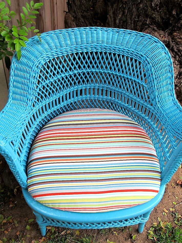 The Chair And Cushion Closeup