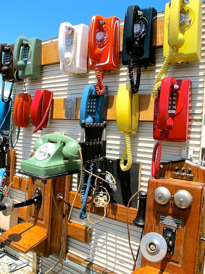 Vintage and antique phones