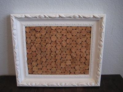 Wine Corks Repurposed Into Vintage Menu Board Homejelly
