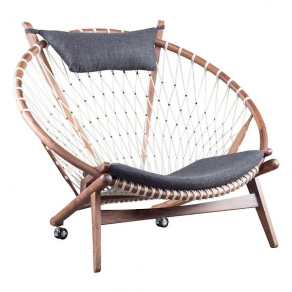 Net lounge chair