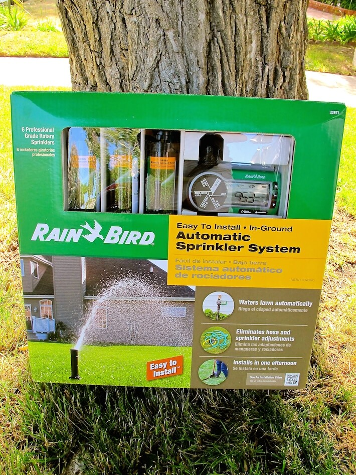 Rain Bird Easy-to-Install Automatic Sprinkler System