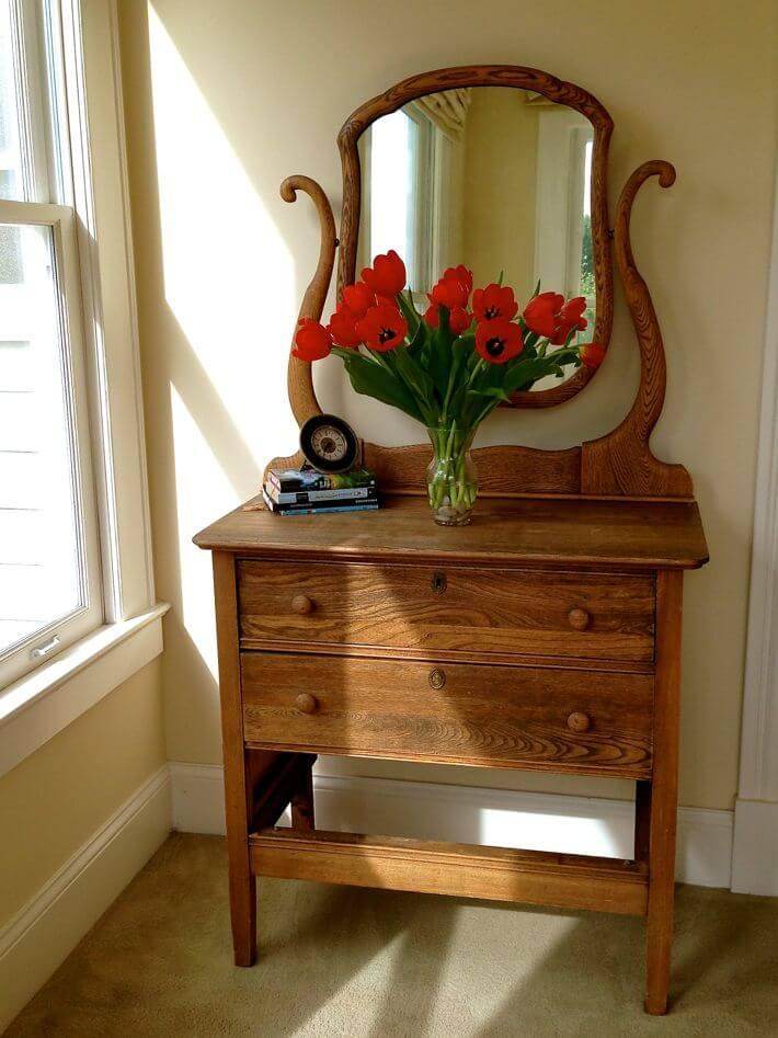 Guest room dresser...just love it.