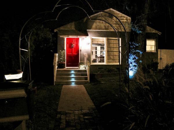 Spruce up with lights on your mailbox, trees and steps