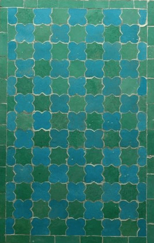 Turquoise:Spring Green Splashback