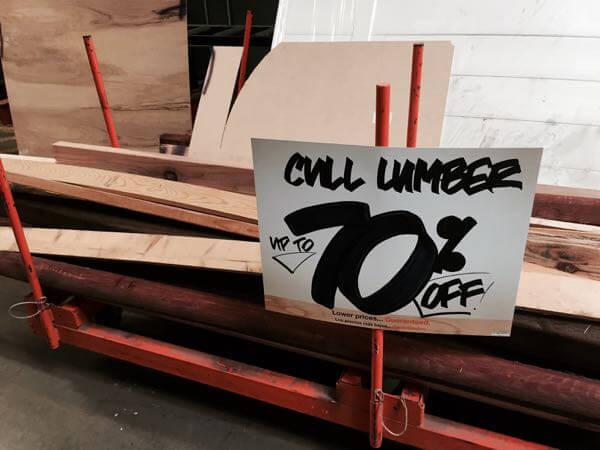 home depot scrap wood