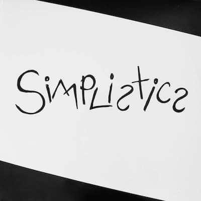 Simplistics album front copy