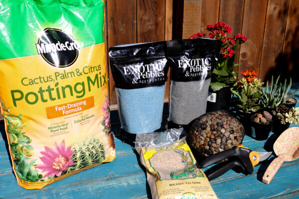 The planting supplies