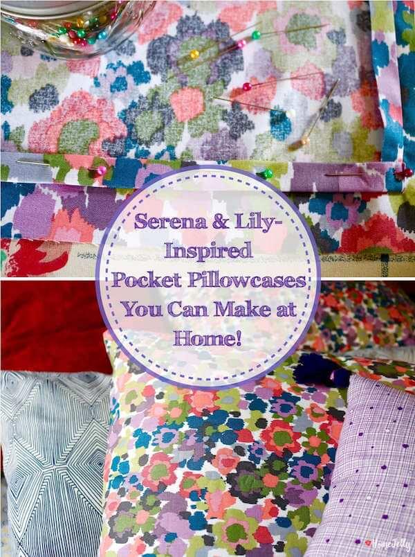 Pocket Pillowcases pinterest photo
