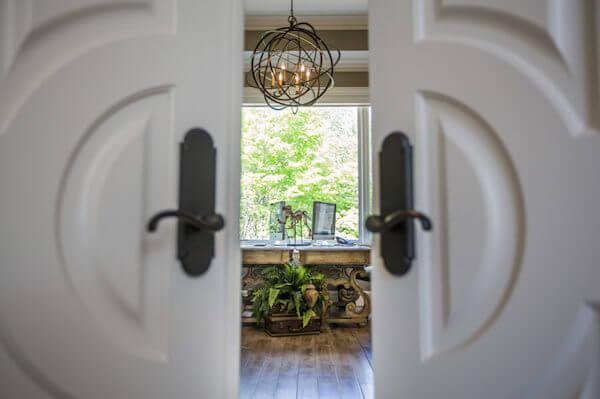 Doors open decor opportunities