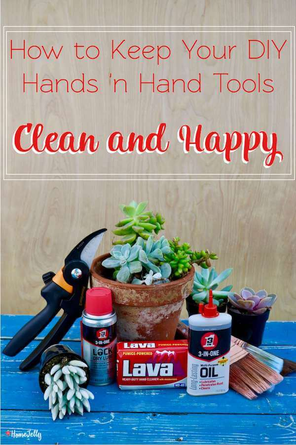 Keep your DIY hands 'n hand tools clean and happy feature photo