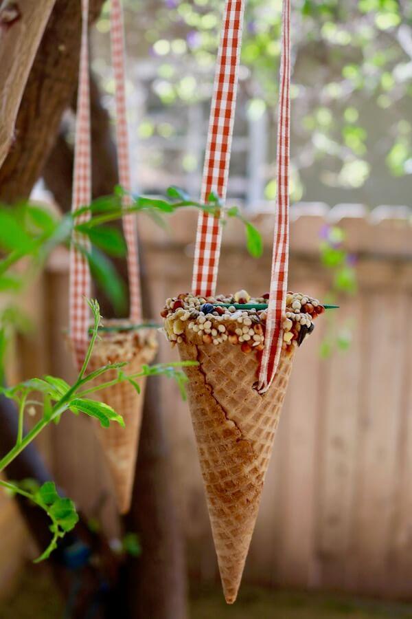 5 Ice Cream Cone-a-copia ornament
