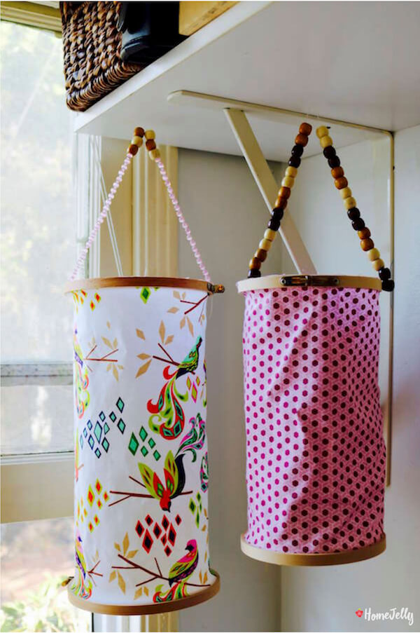 Sweet embroidery hoop lanterns1