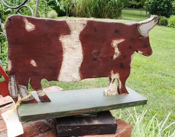 large bull whirligig