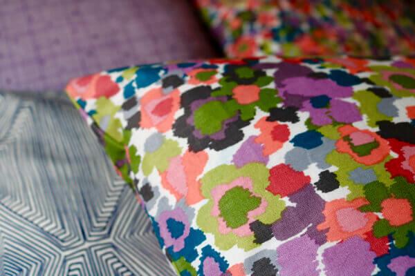 Joann's fabrics turn into wonderful decor