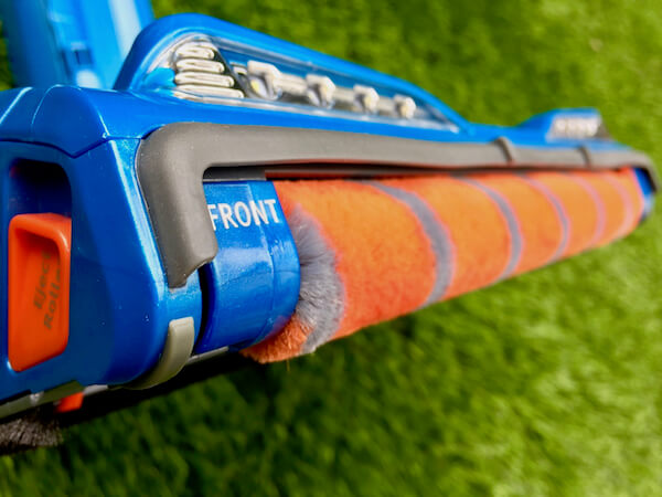 Shark® Rotator® Powered Lift-Away Speed™ with DuoClean™ Technology uses both a brush and soft rolle
