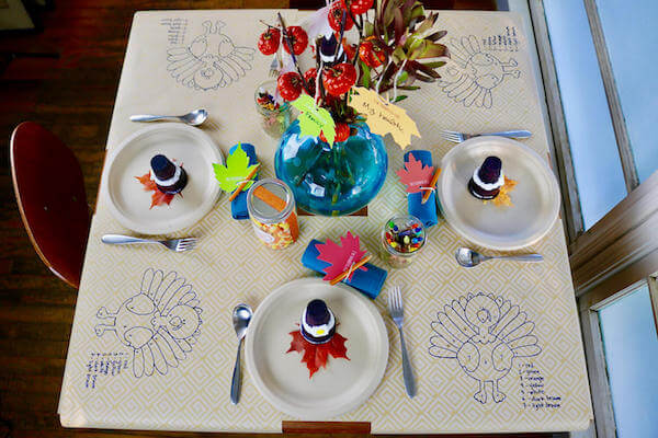 "This made-by-hand kids' table will have kids saying ""Thank you!"""