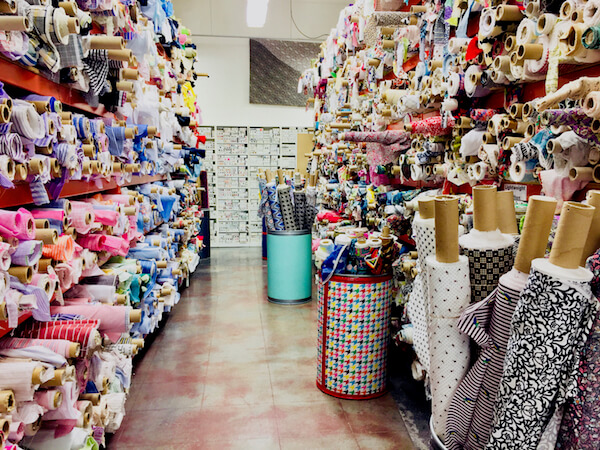 Mood fabric stores have endless textiles to touch and see for yourself