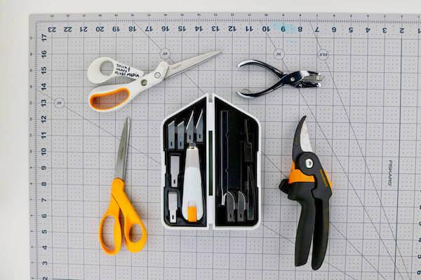 Thanksgiving Tree Centerpiece Tools