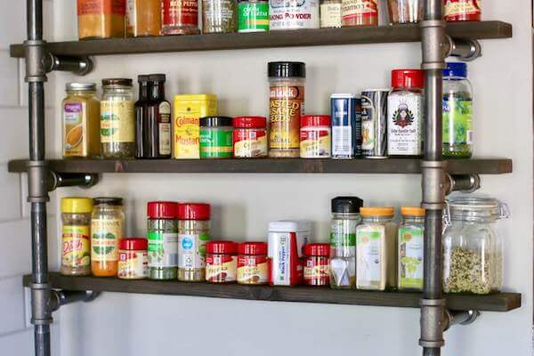 Customize this spice rack to fit your space